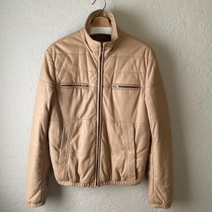 Margiela Quilted Leather Jacket size 48